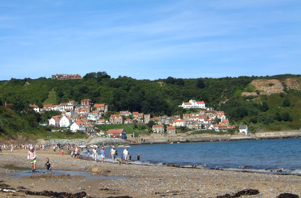 Runswick Bay Beach North Yorkshire
